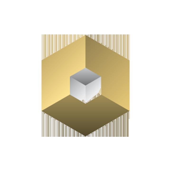 Logo in circle